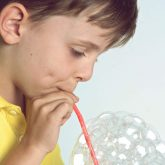Bubble blowing 2